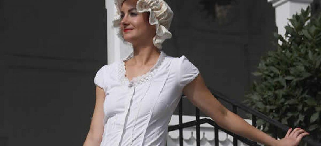 Bílý prádlový overal